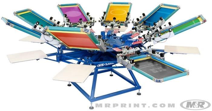 shirt screen printing machine